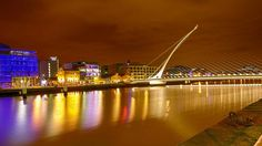 Dublin on a still dry night just has a certain something you'll find nowhere else... And a bridge.