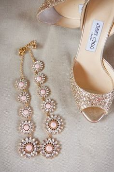 Love pink and gold!