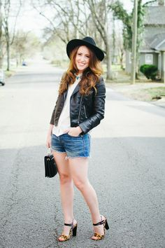edgy spring look