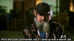 """Hey, I don't have to be an idiot, I just wanted to know what the party was about!""-Si"