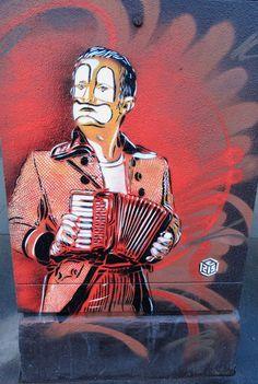 Street Artist: C215 in Paris