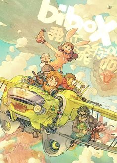 ppp X3 by bibo X, via Behance ★ || CHARACTER DESIGN REFERENCES | キャラクターデザイン • Find more artworks at https://www.facebook.com/CharacterDesignReferences & http://www.pinterest.com/characterdesigh and learn how to draw: #concept #art #animation #anime #comics || ★