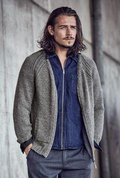 #Strickanleitung Raglanjacke für Männer in glatt rechts / #knitpattern for jumper simple knit via woolplace.de
