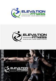 Elevation Fitness Design Logo.  Communicating a... Bold, Modern Logo Design by Smartart