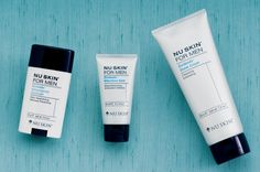 Nu Skin for Men products. Men if you haven't tried these do it today. They are amazing!