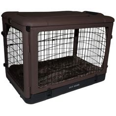 The Other Door Deluxe 27-inch Steel Crate - Overstock™ Shopping - The Best Prices on Crates