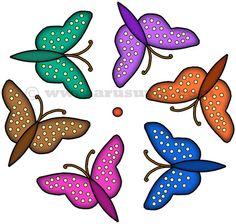 வண்ணத்துப்பூச்சி கோலம் - 3 | arusuvai