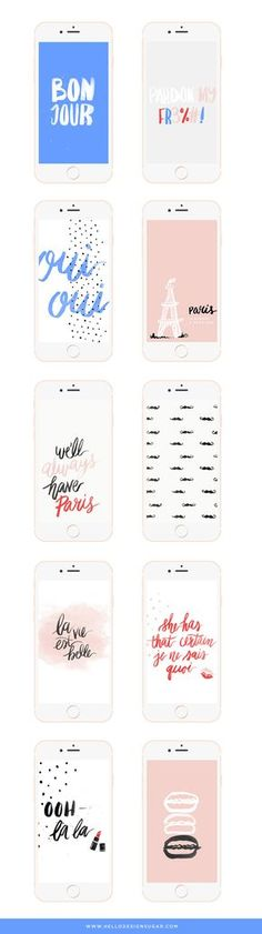 #Freebie! Paris themed #wallpapers for your phone and desktop!