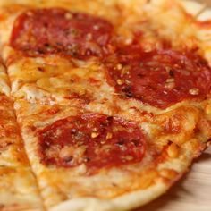 Pizza From Scratch In 20 Minutes Or Less Recipe by Tasty Easy Healthy Recipes, Easy Dinner Recipes, Appetizer Recipes, Easy Meals, Tasty Videos, Food Videos, Comida Pizza, Pizza Recipes, Cooking Recipes