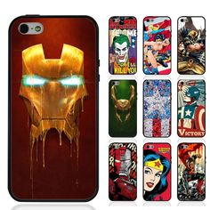 TPUPC Superheros Spiderman Hulk Ironman Wolverine for Iphone&Samsung Phone Cases #UnbrandedGeneric