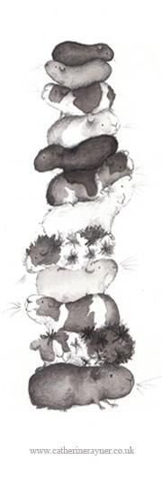 Pile of rodents?! Oh Catherine Rayner I sense that we're on the same page artistically.