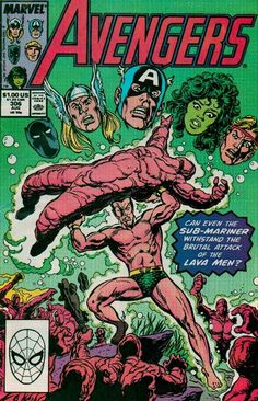 The Avengers #306, 1989