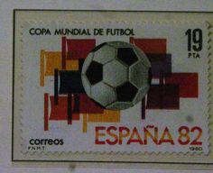 Sellos - Copa Mundial de Futbol 1982