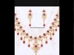 Yaqoot Ruby Birthstone Fashion 2015 Wedding Party Jewellery