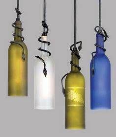 26 Highly Creative Wine Bottle DIY Projects to Pursue usefuldiyprojects.com (20)