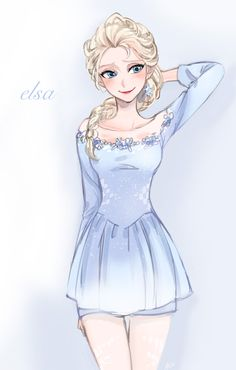 Modern Elsa. Source: http://girlsbydaylight.tumblr.com/post/92680611744/3-by-ano-on-pixiv#