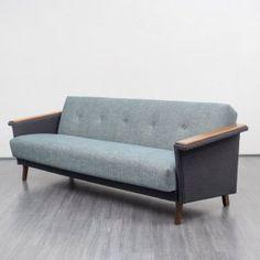 Velvet-Point - 1960s sofa - Karlsruhe