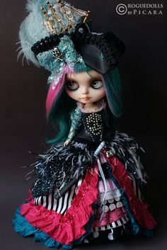 Ultimate Girly Pirate Blythe Doll