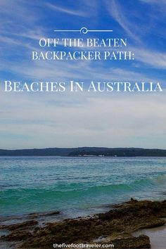 """Take some time to drive the coast from Sydney north through New South Wales to find some """"off the beaten backpacker path"""" beaches. They won't disappoint! Read more at www.thefivefoottraveler.com"""