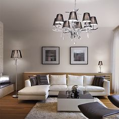Suspension Design, Lighting Solutions, Couch, Furniture, Lame, Home Decor, Style, Products, Crystal