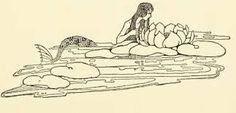 The Wishing-Fairy's Animal Friends, 1921 Illustrations Dugald Stewart Walker Tarot, Water Fairy, Mermaid Drawings, Water Nymphs, Mermaid Tale, Tattoo Photography, Vintage Mermaid, Mermaids And Mermen, Merfolk