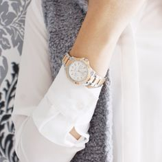 A girl boss knows what she wants, and she's always in control. @sidneyxvi is wearing a beautiful timepiece that keeps her on track.