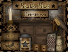 My new favorite store!  Home decorating   Shabby Shed Primitives