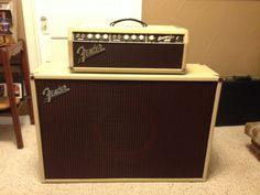 My 1963 Fender Bassman, Blonde and Oxblood