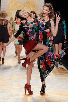 Défile Desigual prêt-à-porter automne-hiver 2014-2015, New York #NYFW #Fashionweek
