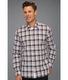 John Varvatos Star U.S.A. Slim Fit Pick Stitch Shirt Smoke - Zappos.com Free Shipping BOTH Ways