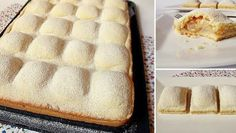 MN: cake with apples - good taste but next time would be better to grated the apples Czech Recipes, Russian Recipes, Sweet Recipes, Cake Recipes, Hungarian Cake, Eat Pray Love, Sweet Cookies, Sweet And Salty, Desert Recipes