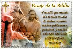 Vidas Santas: Santo Evangelio según san Mateo 9:10