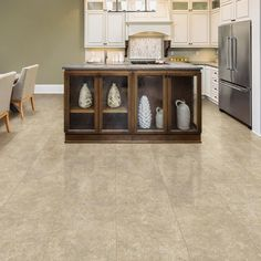 LifeProof Breezy Stone 16 in. x 32 in. Luxury Vinyl Tile Flooring (24.89 sq. ft. / case) - I442103L - The Home Depot