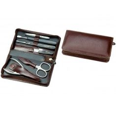 GERMAN MANICURE SET REAL HORN BY HANS KNIEBES