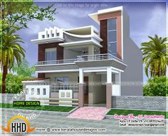 kerala home design and floor plans 2500 to 3000 sq feet - Front Home Designs
