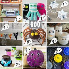 18 Halloween knutselideeën voor de Herfstvakantie