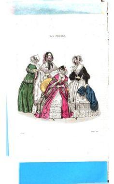 La Moda. Giornale dedicato al bel sesso 18401026 Seite: 4