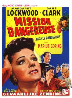 A Year of Spy Films 139/365 Highly Dangerous (1950 United Kingdom) The International Spy Film Guide Score: 8/10  #isfg #spyfilmguide #ericambler #communists #entomologist #ironcurtain #spymovie #spyfilm