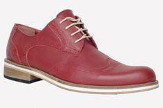 Zapato Roma- color rojo (Base cuero/eva)
