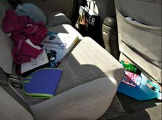 A Mum 'n the Oven: Organizing Your Car  Reminder:  Gotta do this!  It's time!