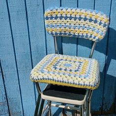1000 images about stool covers on pinterest stool - Crochet chair cover pattern ...