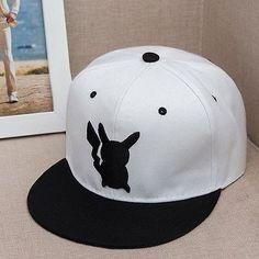 Men's/Women's Pokemon Go Pikachu Unisex Snapback Hats - 3 Colors
