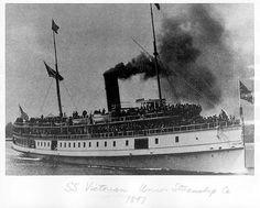 Victorian Steamboat, 1897.