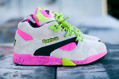 Reebok Court Victory Pump (Fluro Grey) #sneakers