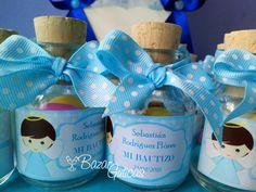 Botellas para Recordatorio de Bautizo Facebook Sign Up, Almonds, Bottles, Invitations