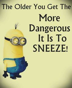 Oh heck yes! Or coughing! Sometimes you just may pee a little!!!