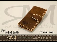 #Iphone_5s #cover #handmade #leather #جراب