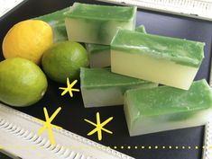 Melt & Pour - Lemon Lime Soap Recipe