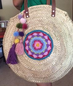 Hippie Bags, Boho Bags, Spring Bags, Summer Bags, Fancy Hands, Crochet Diy, Handmade Handbags, Fabric Bags, Crochet Purses