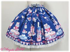 Angelic Pretty » Skirt » Merry Making Party Skirt